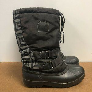Sorel Women's Lined Winter Snow Boots Size 8
